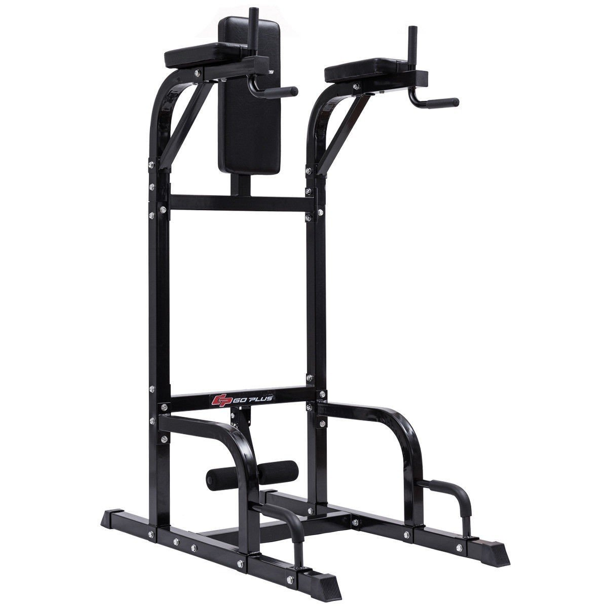 Vertical Knee Raise Dip Station Chin Up Push Up Stand Power Tower Fitness