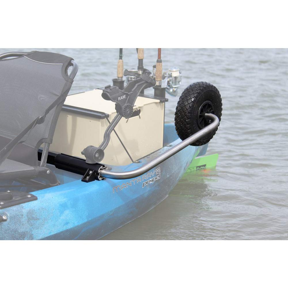 Boonedox Groovy Landing Gear Kayak Wheel System Hobie Outback by Boonedox