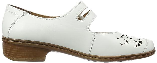 ara Rhodos-Ang 22-52723-07 - Zapatos de cuero para mujer, color blanco, talla 38.5