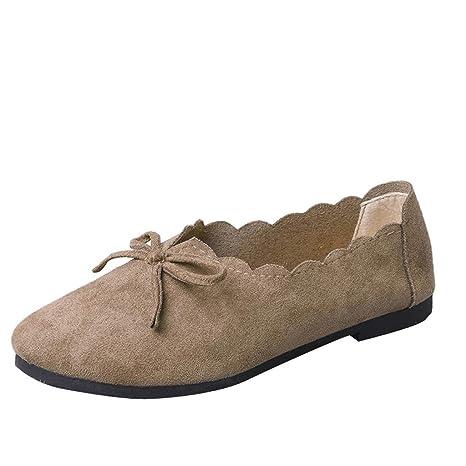 Answerl☀ Zapatos de Ballet clásicos con Punta Puntiaguda ...