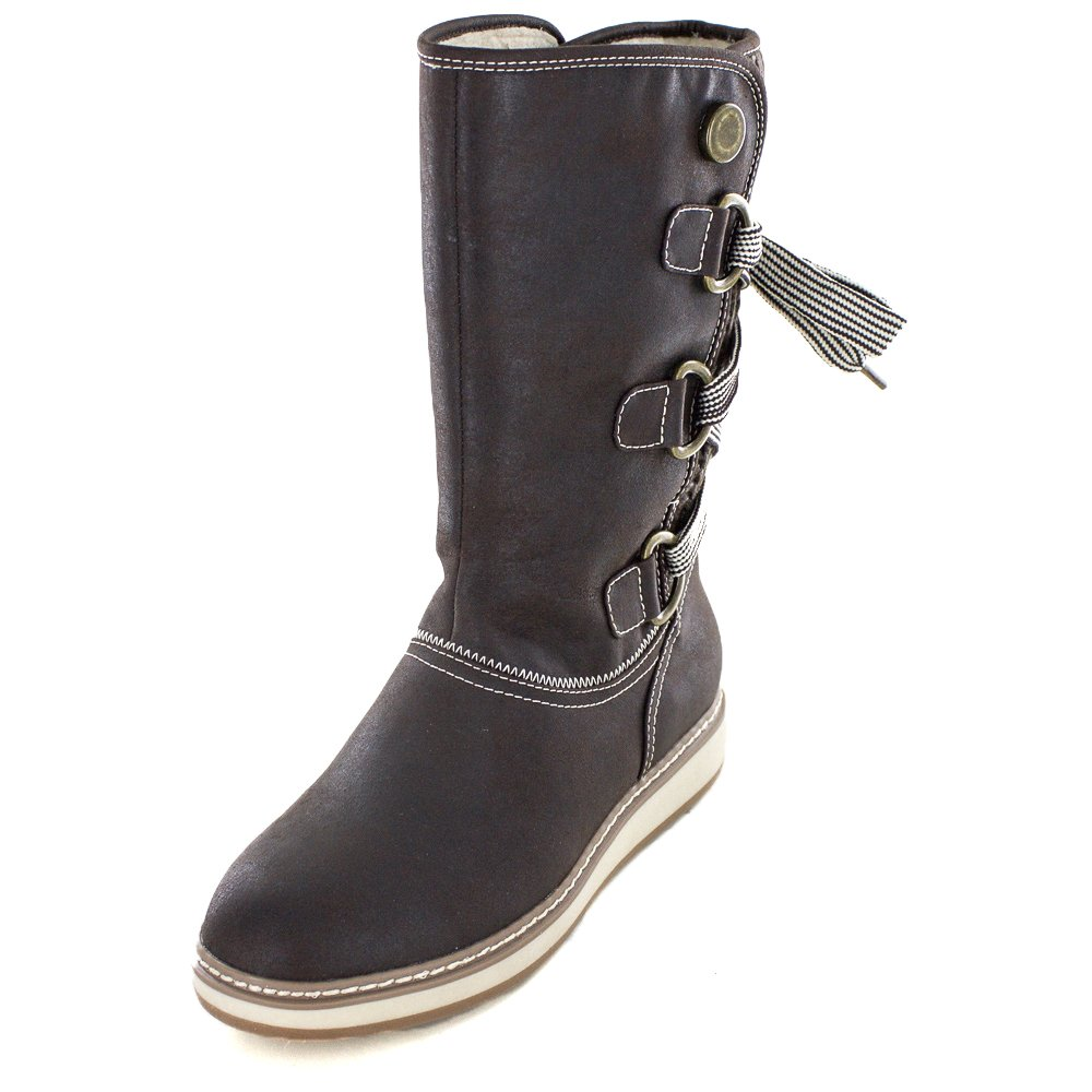 WHITE MOUNTAIN Women's Tivia Snow Boot B01JGEDPWA 7.5 B(M) US|Dark Brown
