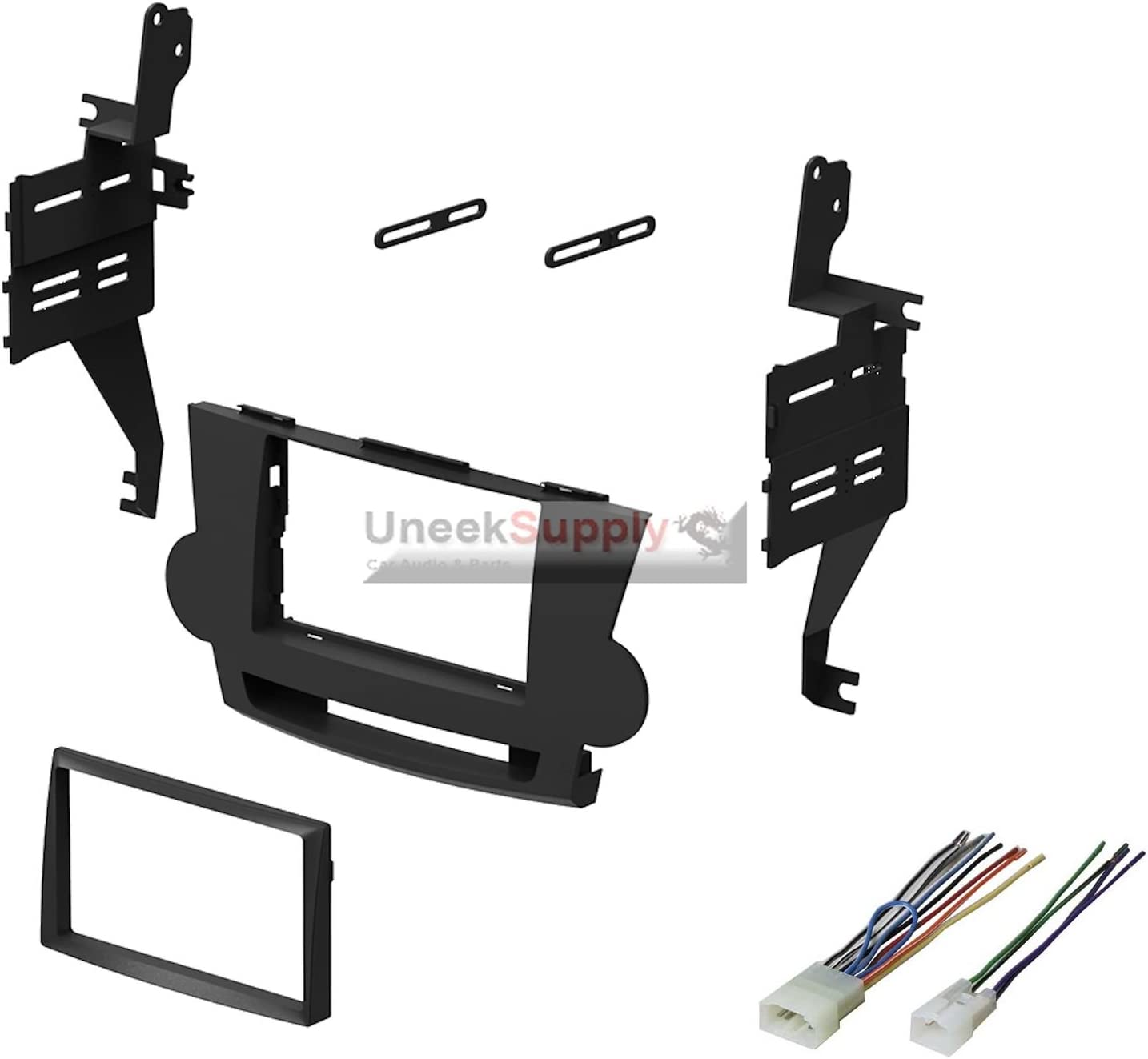 Amazon.com: Dash Kit for 2008 2009 2010 2011 2012 Toyota Highlander Double  Din Stereo Install with Wire HarnessAmazon.com