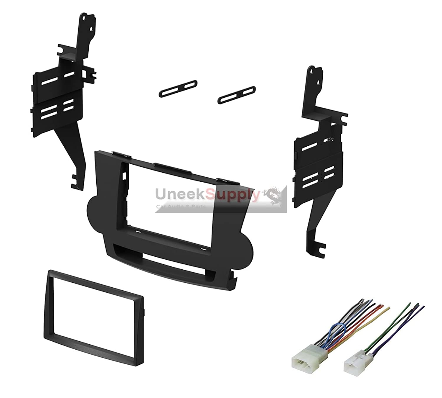 2008 2009 2010 2011 2012 Toyota Highlander Dash Kit Wiring Harness For After Market Stereos Page 3 Double Din Stereo Install With Wire Cell Phones Accessories