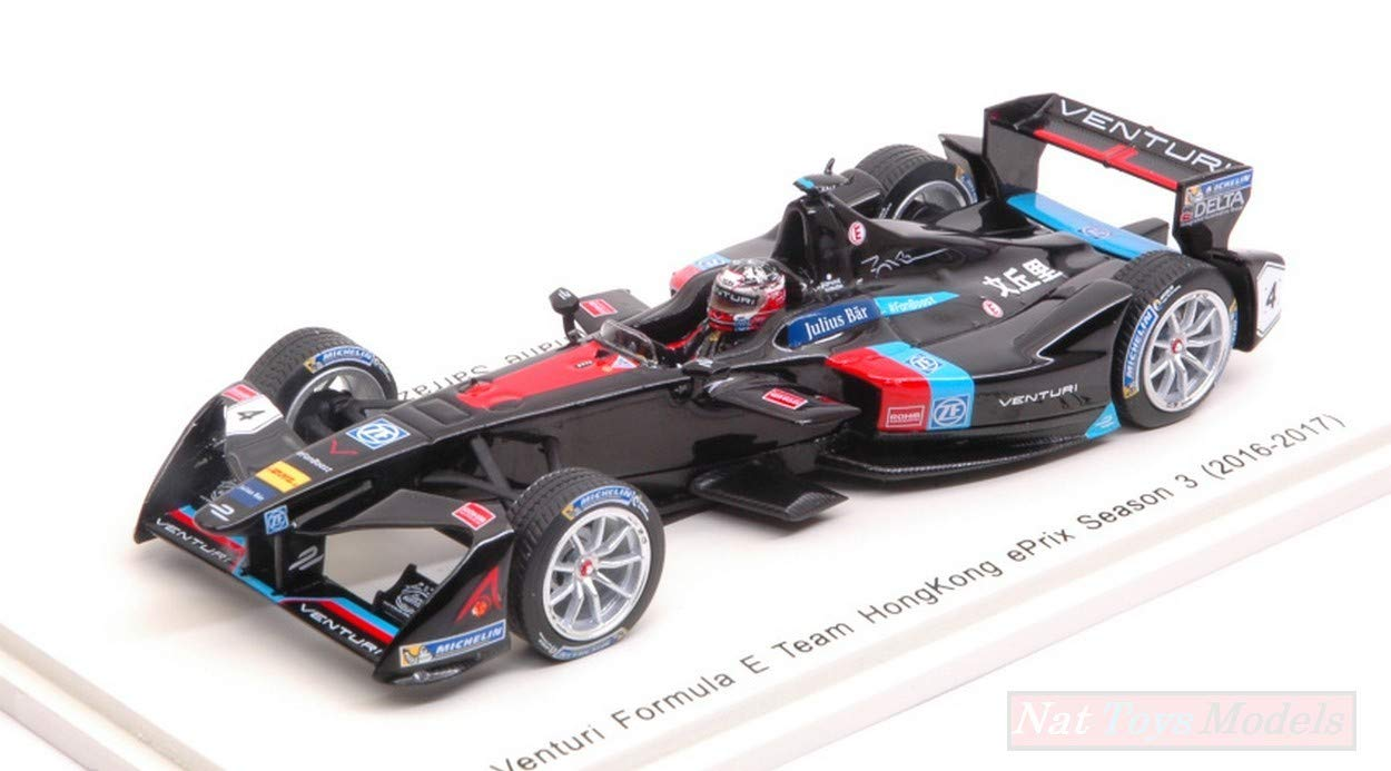 perfecto Spark Spark Spark Model S5904 Venturi S.Sarrazin 2016 N.4 Rd1 Hong Kong Formula E 1 43  Compatible con  Felices compras