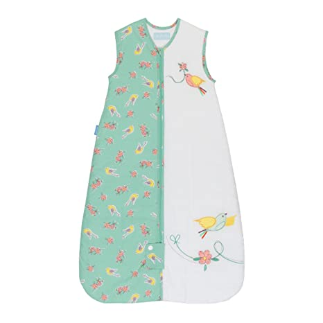 Gro Pajarillos - Saco de dormir premium, para 18-36 meses, 98 cm