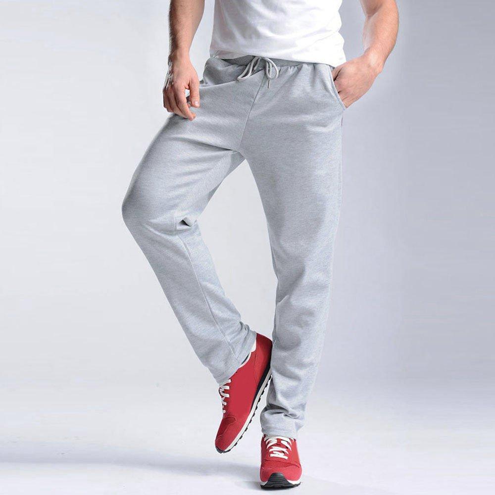 VonVonCo Hombre Pantalones Chandal Anchos Hombres Pantalones ... 6089b534609