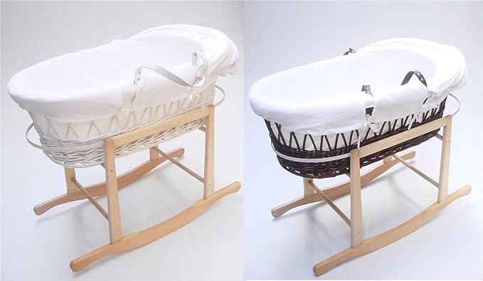 Moses korb stabil tragbar für reisen geeignet wickernew baby