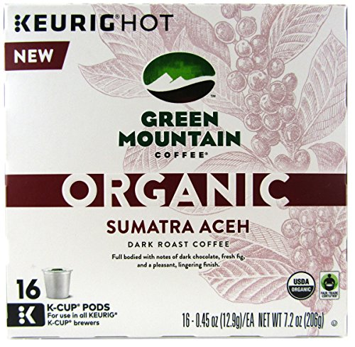 Green Mountain Coffee Structural Sumatra Aceh Keurig K-Cups, 16 Count