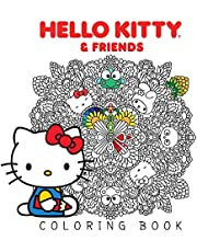 Hello Kitty & Friends Coloring Book: Volume 1