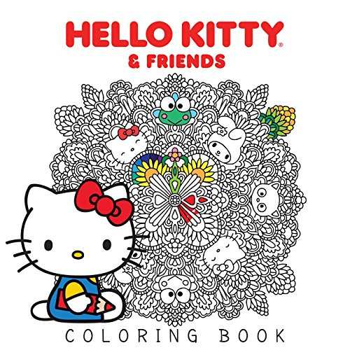 (Hello Kitty & Friends Coloring Book )