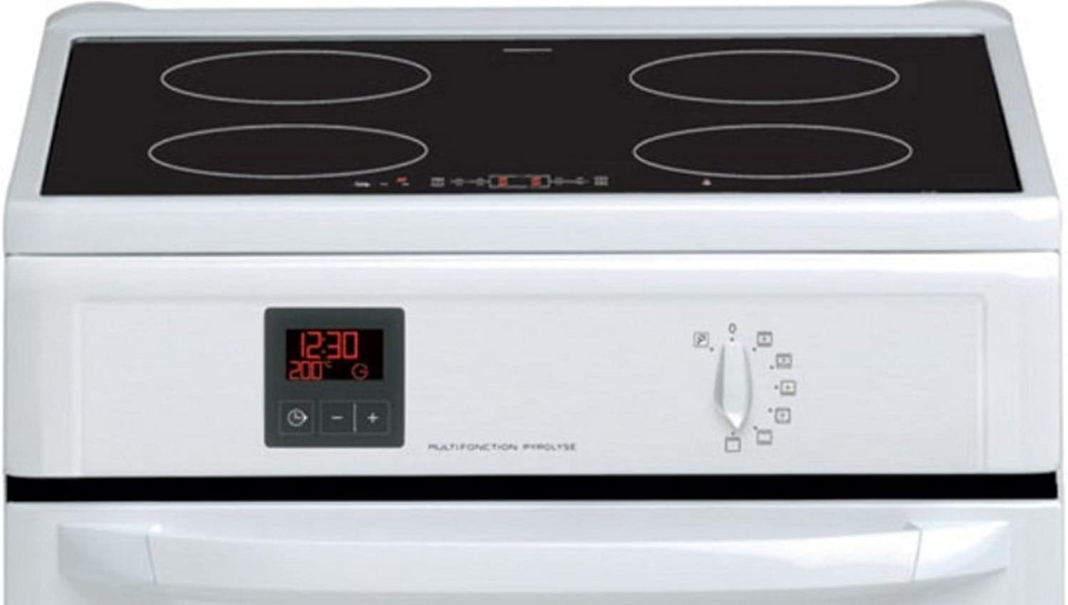 Brandt kip710w blanc induction 4 foyers classe a for Ustensiles de cuisine induction