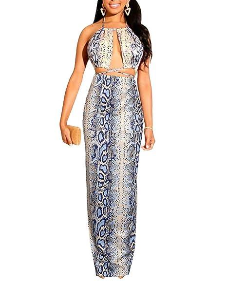 Amazon.com: IyMoo Vestidos de moda para las mujeres Boho ...