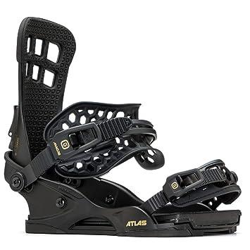 3d720d9bd55 Union Atlas Snowboard Bindings Medium Matte Black  Amazon.co.uk ...