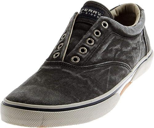 Sperry 0771931 Halyard Herren Schuhe Slipper Canvas Sommer