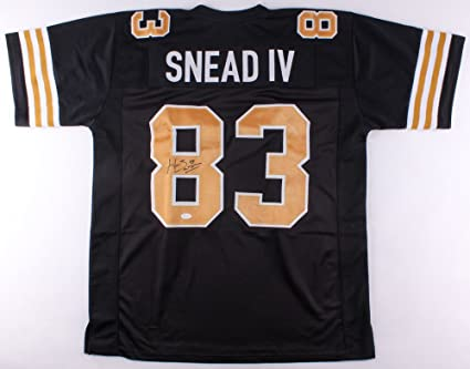 2009a993b Image Unavailable. Image not available for. Color  Willie Snead Signed New  Orleans Saints Jersey (JSA)