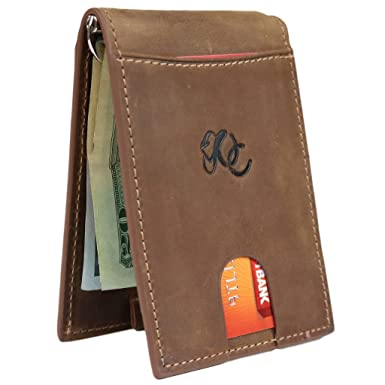 d590b0226e1c Mens Western Money Clip Bifold Wallet by Urban Cowboy - Genuine Leather