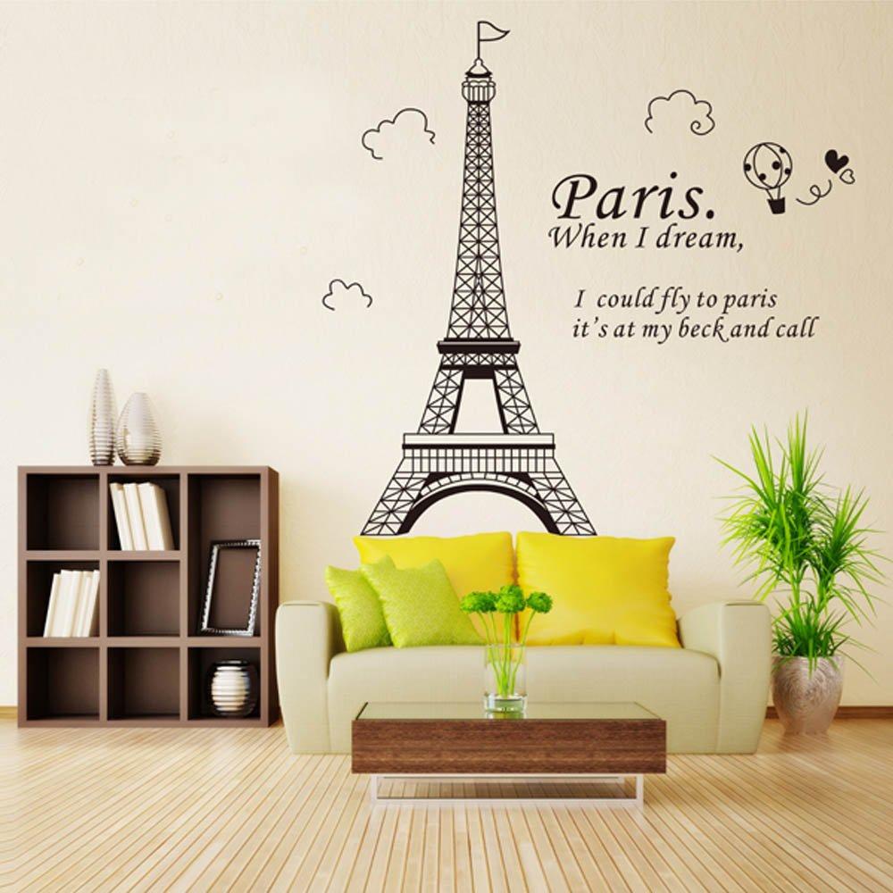 Docooler Romantic Paris Eiffel Tower Beautiful View Of France Diy