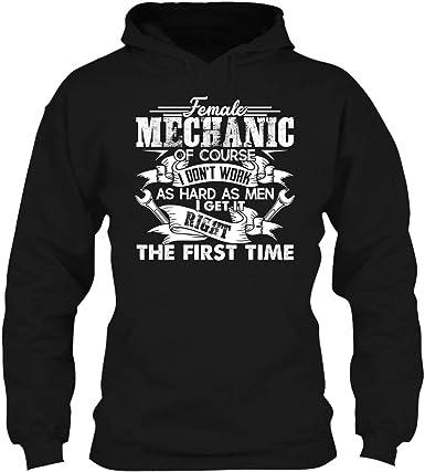 Sweatshirt Female Mechanic Tee Shirt Hoodie