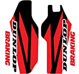 07-19 HONDA CRF150R: N-Style Lower Fork Guard Decal Kit