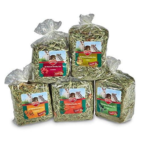 Kaytee-All-Natural-Timothy-Hay-Plus-Variety-Pack-for-Rabbits-Small-Animals