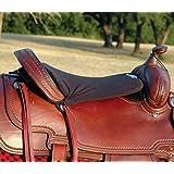 "Cashel Western Long Tush Cushion - Size: 1/2"" or 3/4"" Foam Color: Black"