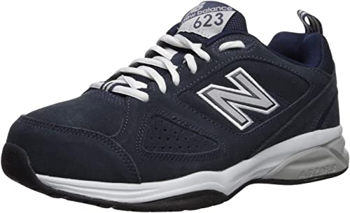 New Balance Men's MX623v3 Training Shoe, Navy, 7 D US