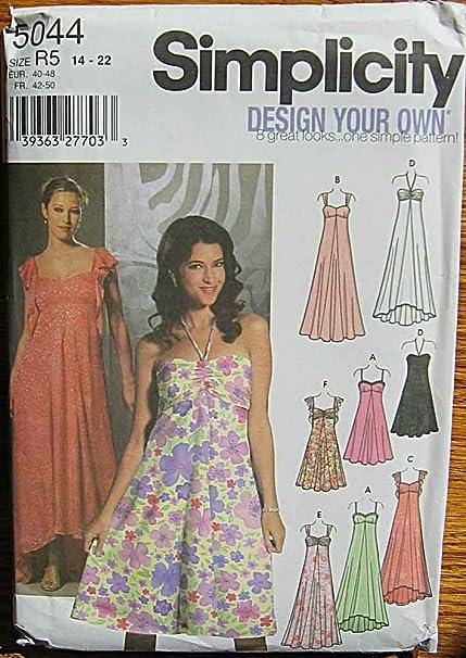 Empire Waist Dress Pattern