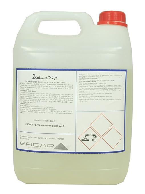 zeol Lavadora ERGAP 5L Limpiador para lavar ropa a mano y de ...