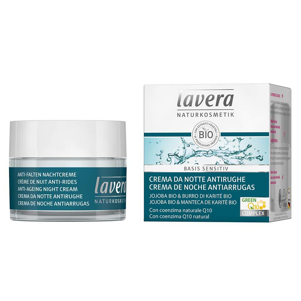 lavera Anti-Ageing Night Cream Q10 ∙ Softens & firms The Skin ∙ Vegan ✔ Organic Skin Care ✔ Natural & Innovative Cosmetics ✔ 50ml