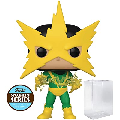 Marvel: 80th First Appearance - Electro Specialty Series Pop! Vinyl Figure (Includes Compatible Pop Box Protector Case): Toys & Games