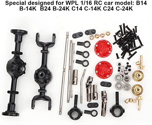 Upgrade OP Fitting Metal Part Kit Set For 1//16 WPL B14 B24 B16 C14 RC Truck Car