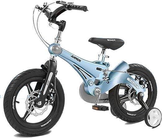 HUALQ Bicicleta niño Bicicleta 3-6 años bebé Bicicleta 12 Pulgadas ...