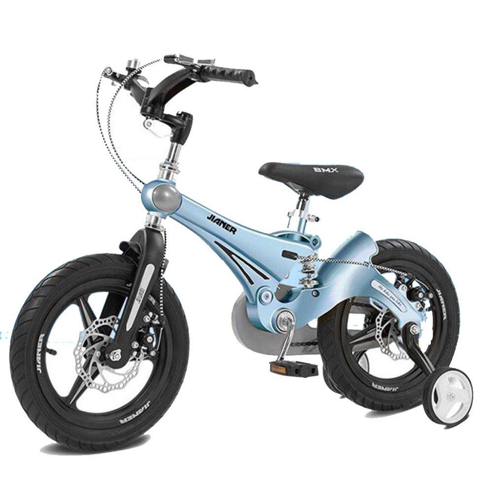 HUALQ Bicicleta niño Bicicleta 3-6 años bebé Bicicleta 12 Pulgadas bebé Carro niño niña Choque Bicicleta