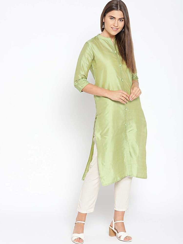 Indian Women S 100 Silk Top Tunic Wedding Wear Casual Kurti Loose Fit Party Wear Frock Suit Green Color Tunic Plus Size At Amazon Women S Clothing Store,Sparkle Mermaid Wedding Dresses With Bling
