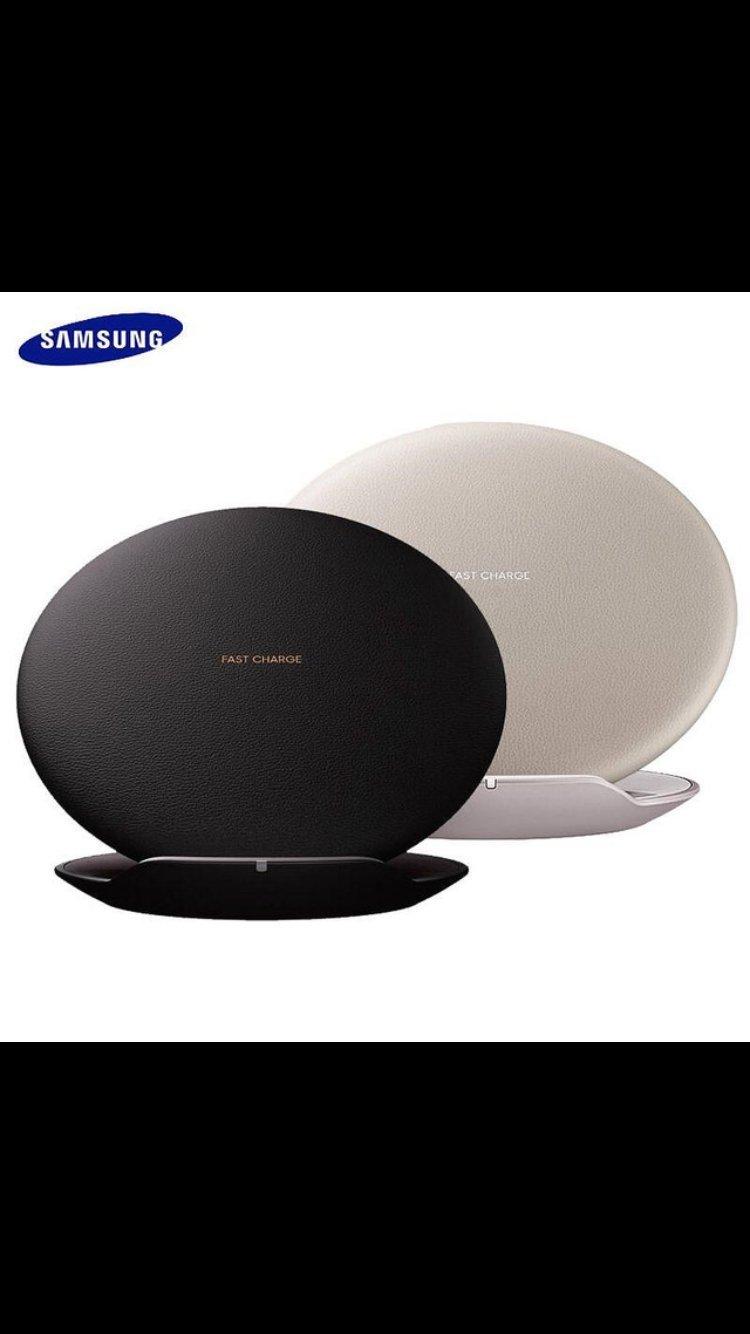 Cargador inalámbrico con soporte rápido para Samsung Galaxy Note 8, Jaminy Qi, negro: Amazon.es: Deportes y aire libre
