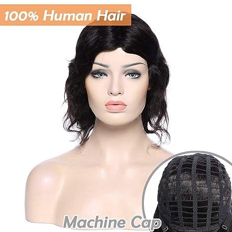 Perruques Cheveux Naturels pour Black Perruque