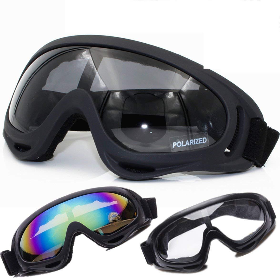 Pandamama Portable Cycling Sun Glasses Bike Sunglasses Outdoor Sports Bicycle Glasses SPOSUNE X400 Men Women Goggles
