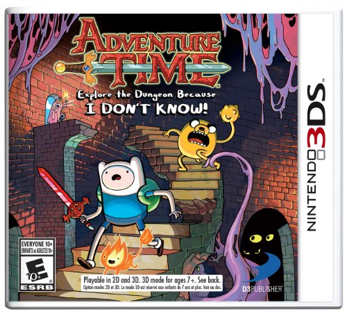 Adventure Time: Explore the Dungeon Because I DON'T KNOW! 3DS (At Prairie Shops Grand)