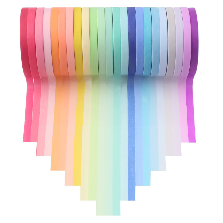 Amazon Com Washi Tape Set 23 Rolls Masking Decorative Tapes Fit Diy