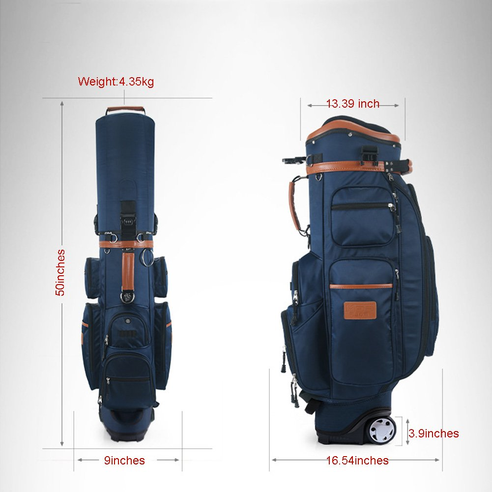 PGM Padded Travel Cover Bag With Wheels With coded lock----Free Send a Rain Cover (black) by PGM (Image #2)