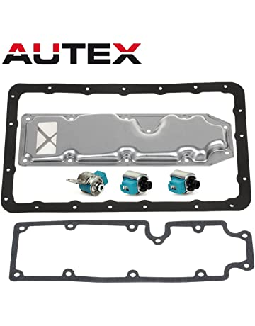 AUTEX A340H AW30-80LE Transmission Shift Master TCC Lock Up Solenoid Control Valve with Pan