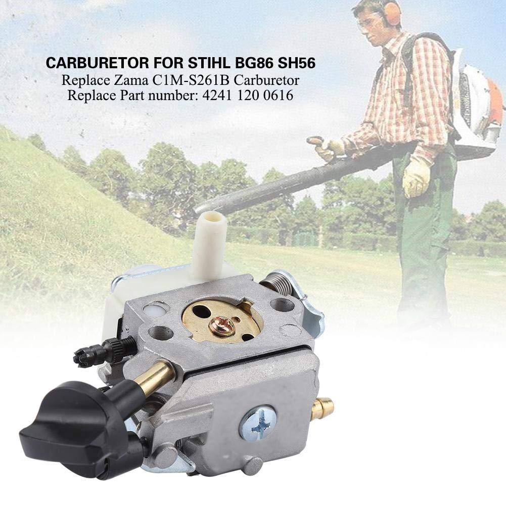 Vergaserersatz Für Stihl BG86 SH56 SH56C SH86 SH86C Passend Für ZAMA C1M-S261B