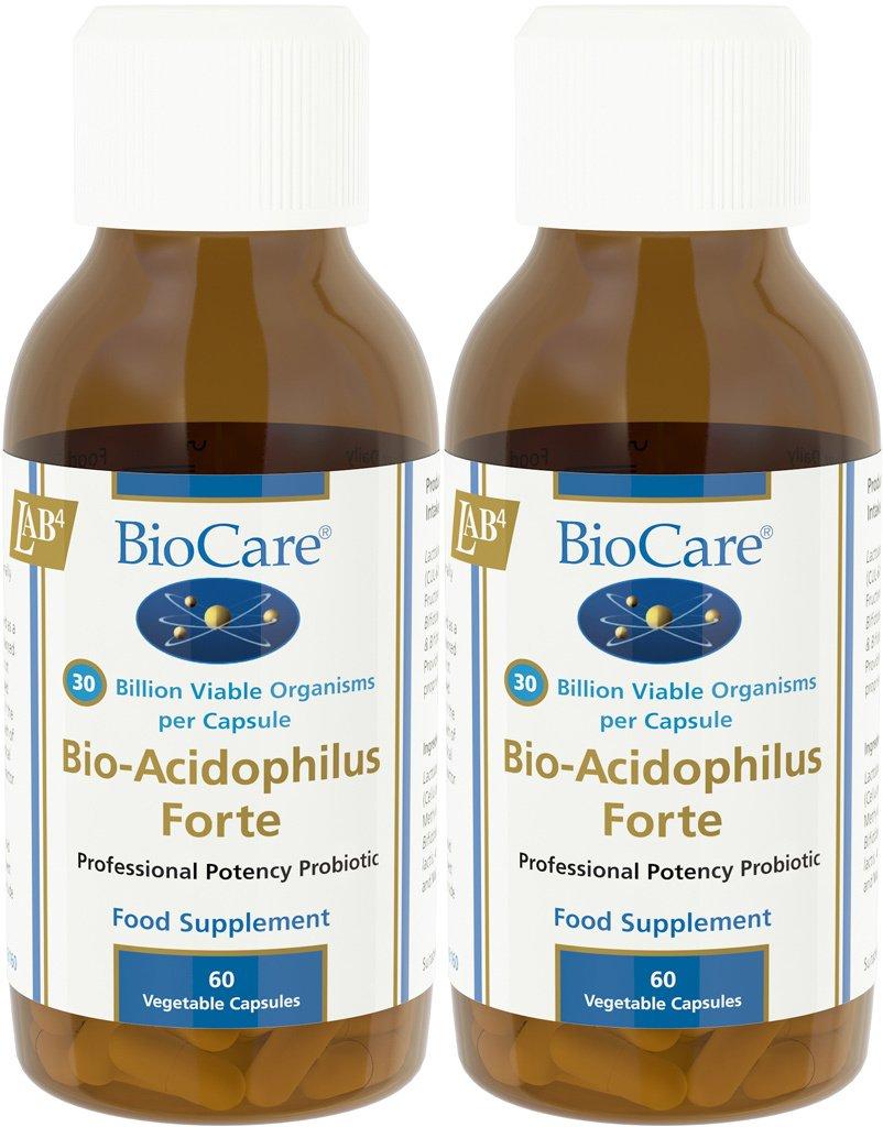 (2 Pack) - Biocare - BioAcidophilus Forte   60's   2 PACK BUNDLE