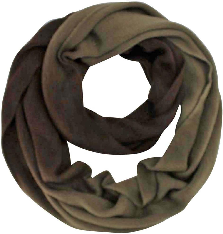Gradient Knit Infinity Scarf