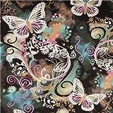 Tissu Michael Miller Filigree Flutter et papillons