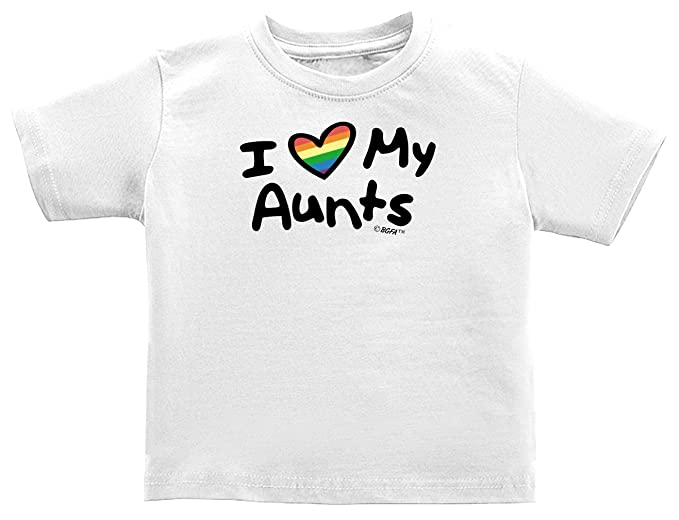 Gay Uncle Baby Clothes I Love My Aunts Lesbian Aunt Lgbt Pride