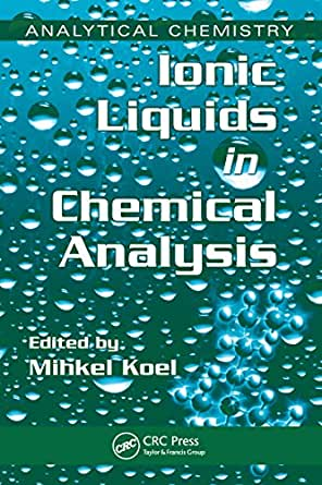 (Analytical Chemistry) 1, Mihkel Koel, Mihkel Koel - Amazon.com