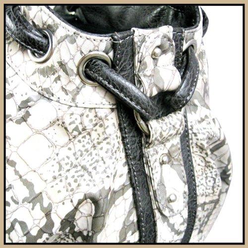 Backbone Faux Snake Leather Pet Carrier
