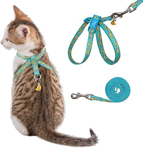 PUPTECK - Arnés para Gato a Prueba de Escapes, 8 Estilos, con ...