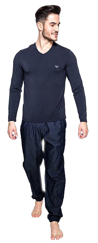 Emporio Armani Pijamas 111709-7A581-00135-TM: Amazon.es: Zapatos y complementos